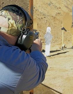 IDPA from shooter's POV