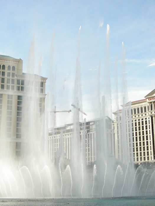 Water Show at Bellagio Hotel