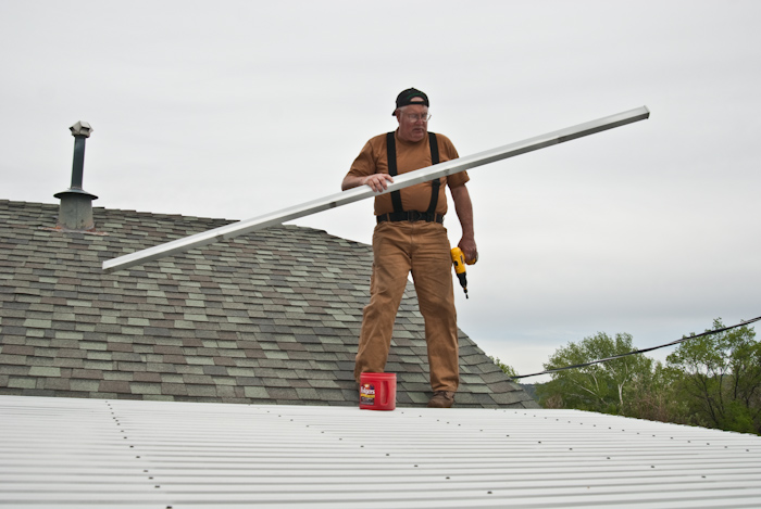 Gary on Roof