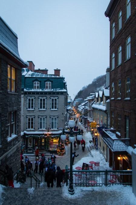 Quartier du Petit Champlain.