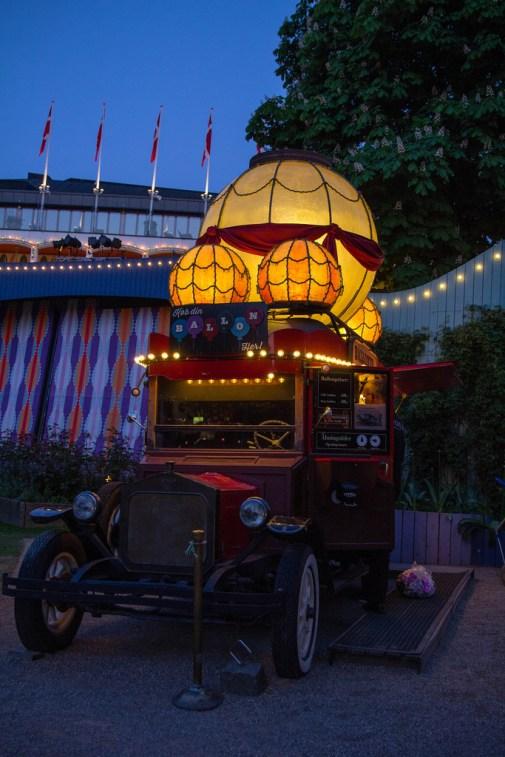 Distributeur de confiseries du Parc de Tivoli.