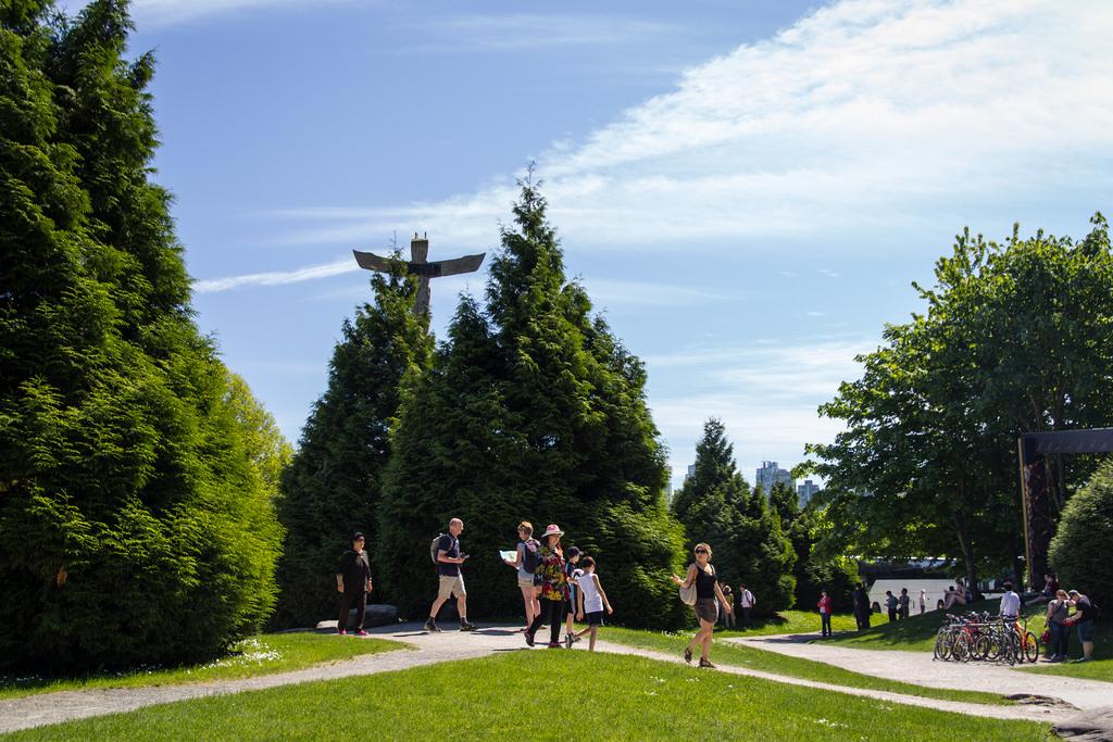 Promenade à Stanley Park.