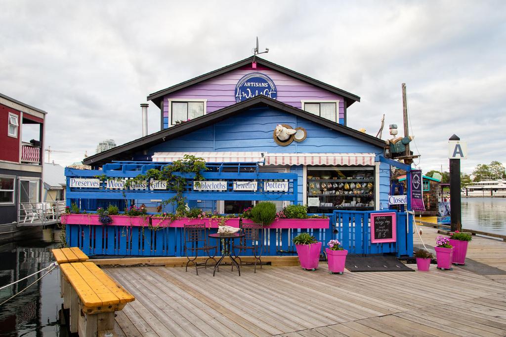 Les bicoques de Fisherman's Wharf.
