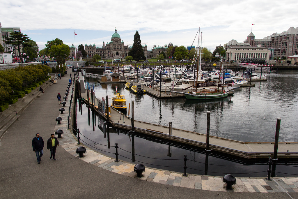 Port de plaisance de Victoria.
