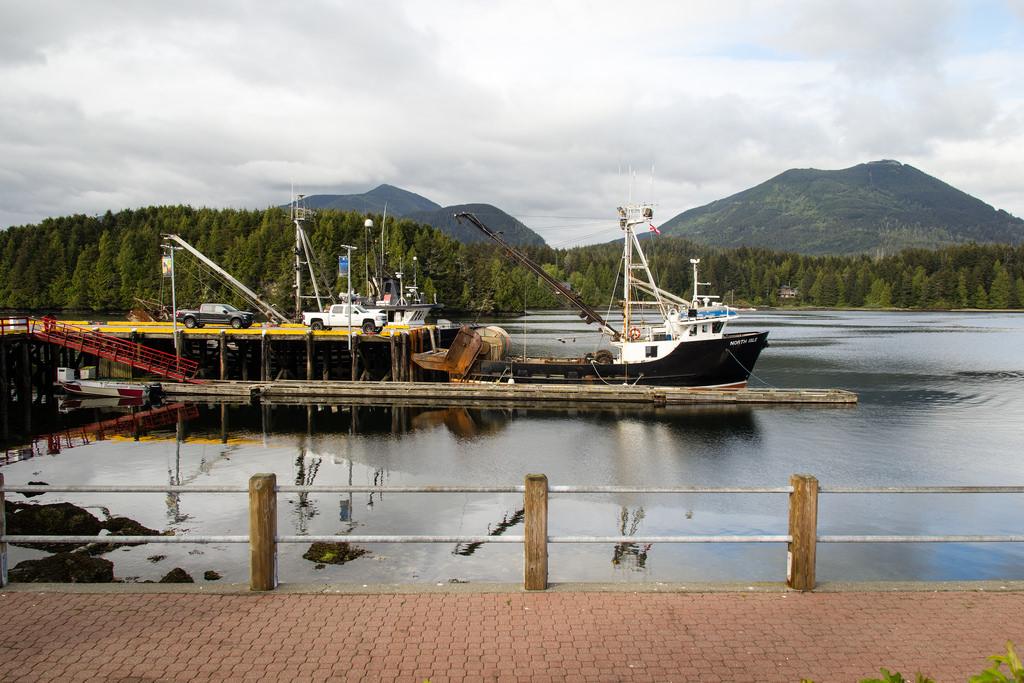 Bateaux au port.