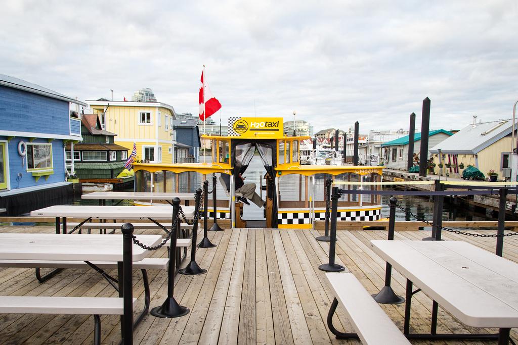 Le taxi de Fisherman's Wharf.