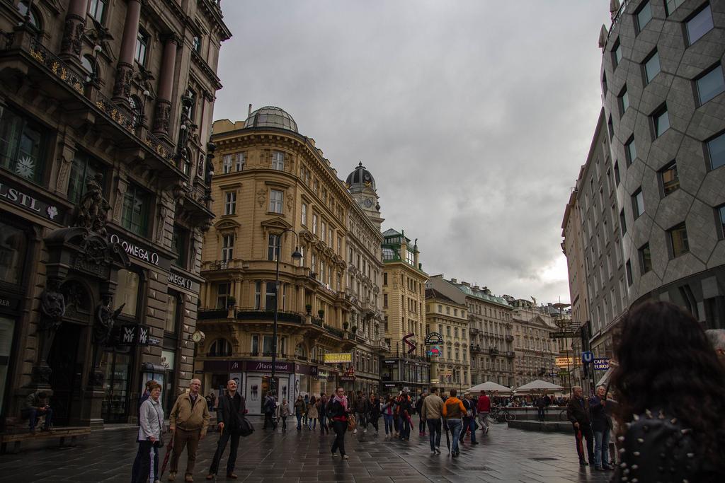 Dans les belles rues de Vienne.