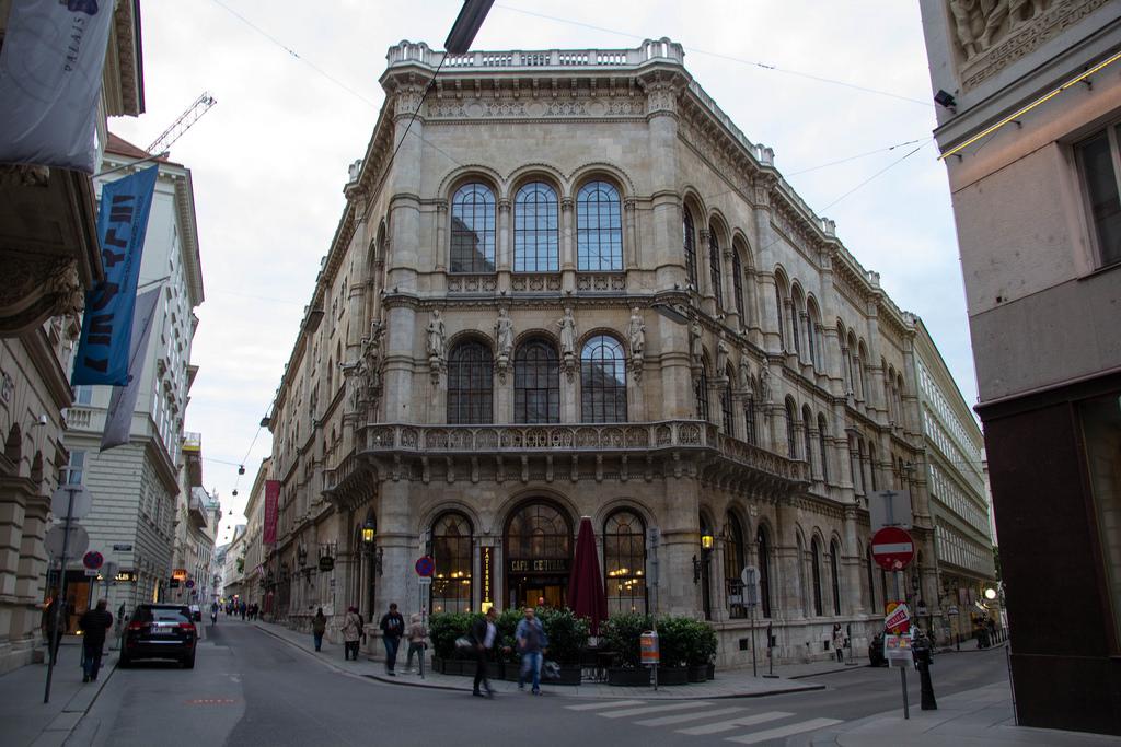 Dans les rues de Vienne.