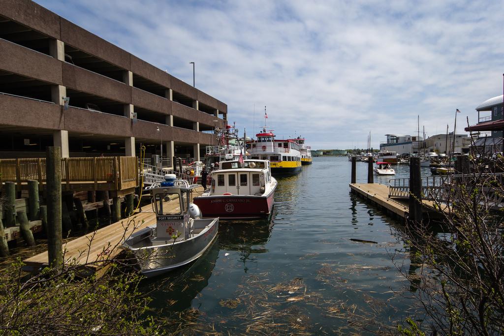 Port de Portland, Maine.