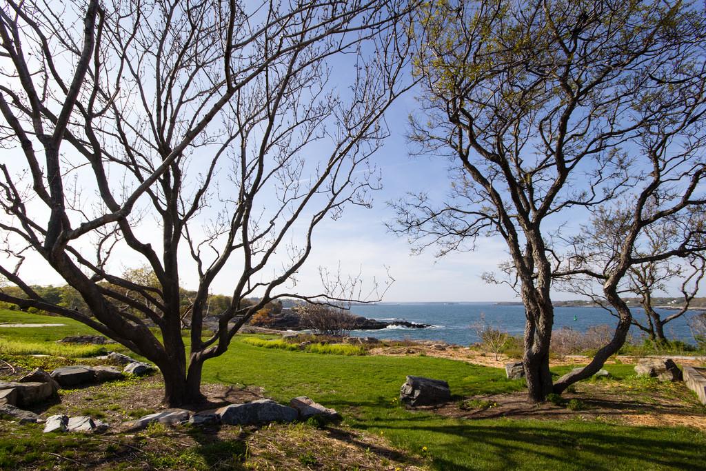 Parc du cap Elizabeth, Maine.