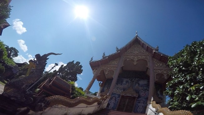 chiang mai temple, pai thailand, motorcycle trip to pai, motorcycle through thailand