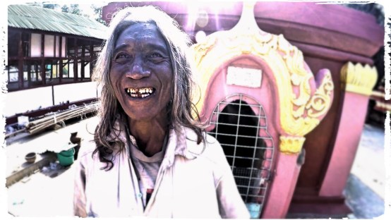 the people are all smiles in Burma