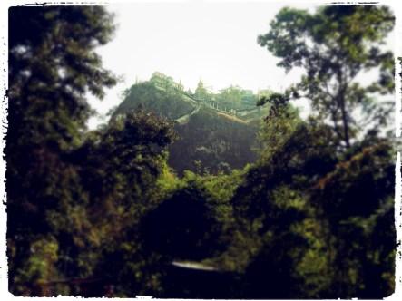 monkey temple, mount pop, myanmar, burma, wanderlust, rt., motorcycle around the world, dagssuperstar, monkey temple burma,