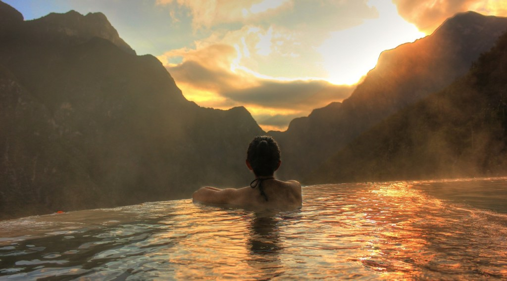 rest, view, paradise