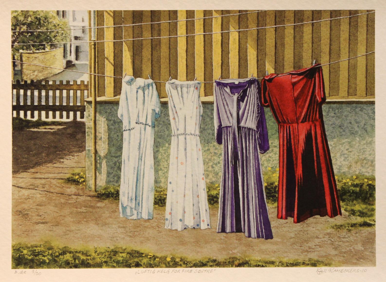 Kjell Rameckers – Luftig helg for fire søstre