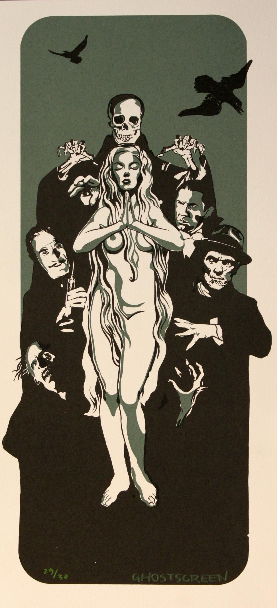 Ghostscreen Yngve Sortland – uten tittel (horror)
