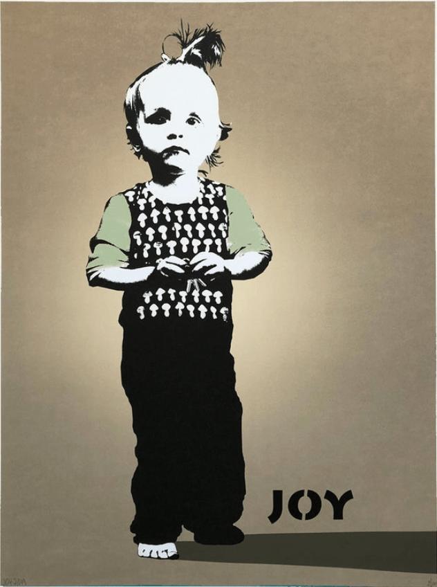 Joy – En fot frem (kobber)