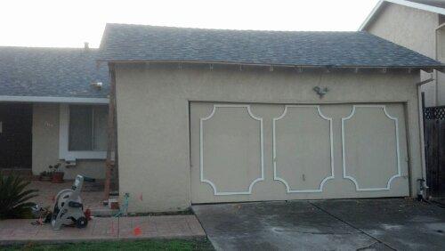 Garage settlement