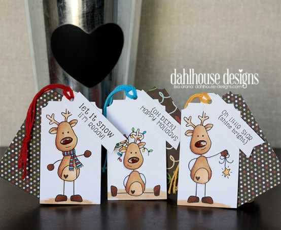 dahlhouse designs| deer tags 11.2014