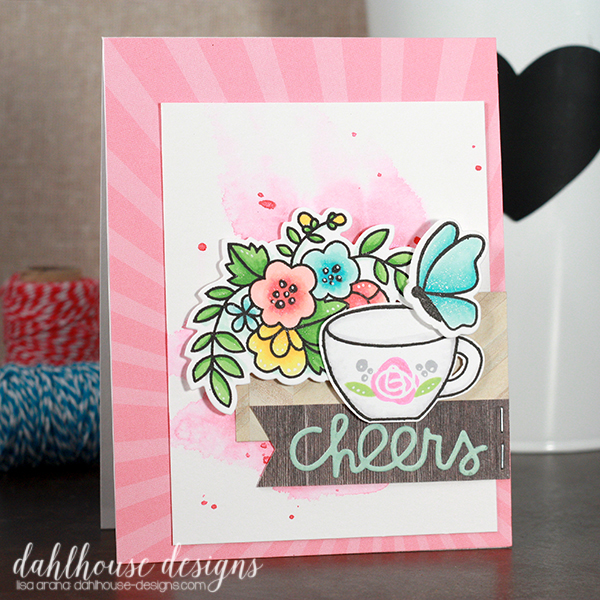dahlhouse designs | 5.2015 cheers tea cup