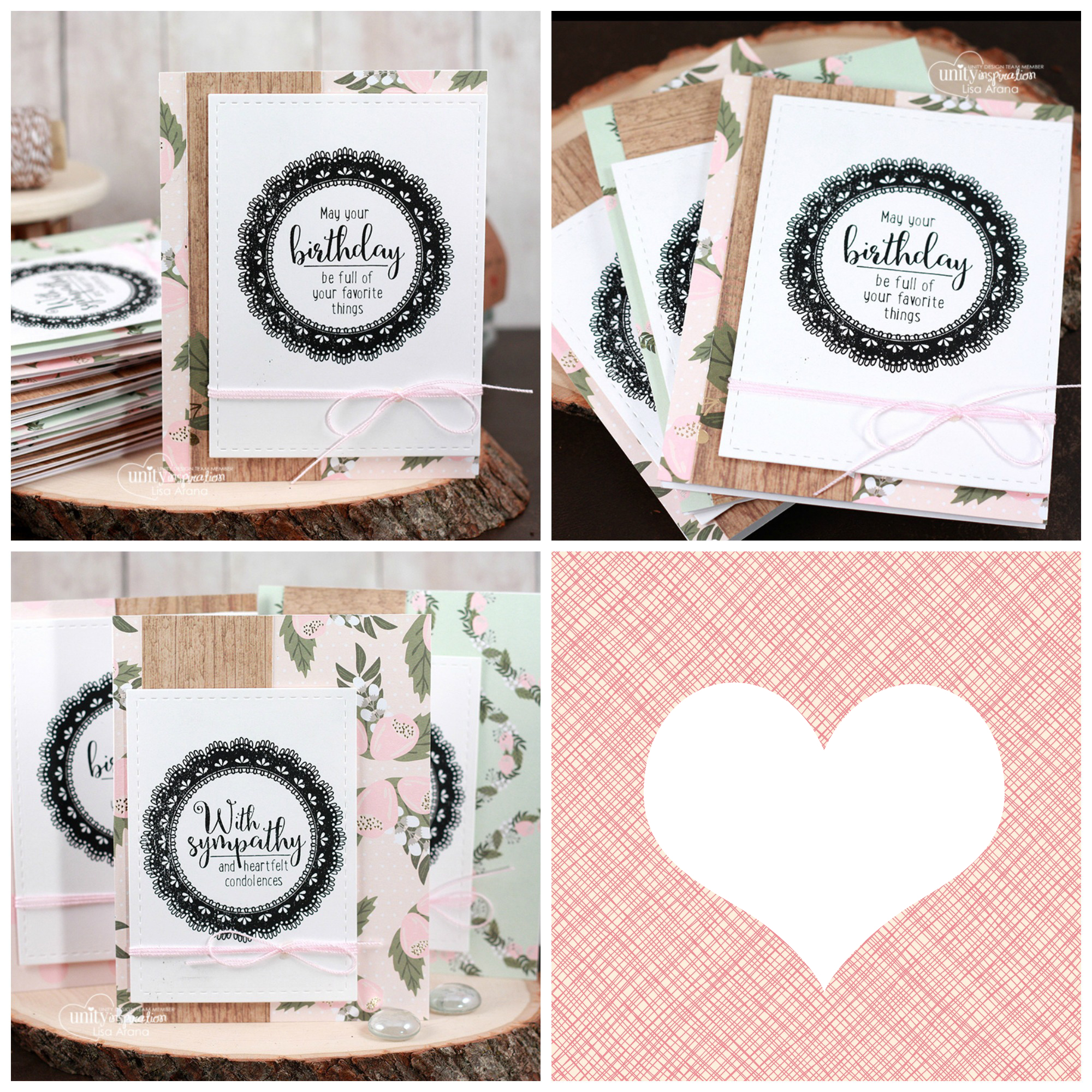 Sharing a set of handmade cards for all occasions using I Consider You Special by Unity Stamp Company. #cardmaking #cardmaker #cards #stamping #dahlhousedesigns #unitystampco #handmadecards #diecutting #diy #stationary
