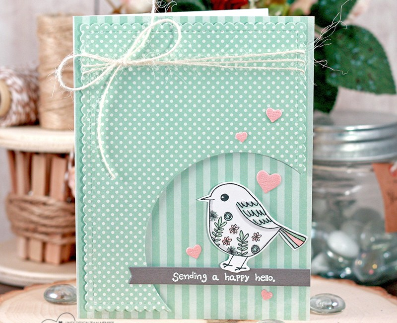 Fun & Cute Die Cut Layout   Video