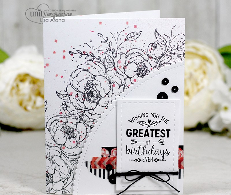 A Simply Lovely Floral Card + Video