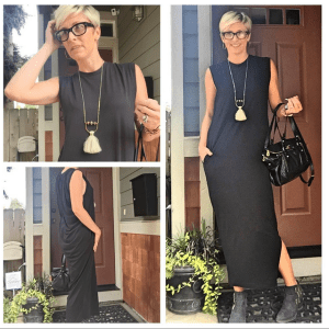 Black Ottod'Ame Maxi Dress
