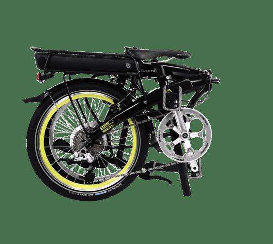 Folding Bikes by DAHON   Ikon Electric