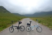 Corrour and Loch Ossian - Our Bikes
