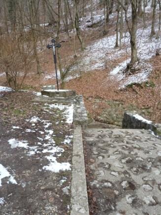 Shrine along Sljemenska cesta