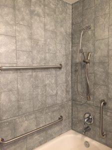Wall Tile Shower - GreyStone