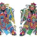 Nguồn gốc hai ông thần giữ cửa trong văn hóa Trung Hoa