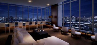 江東区東雲に位置するマンション、ザ湾岸タワーレックスガーデンのスカイラウンジです。