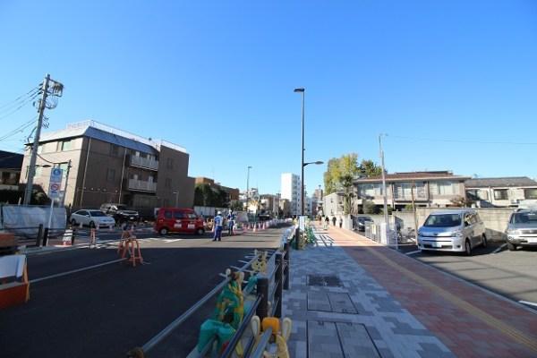 豊島区池袋3-都市計画道路ー補助173号線ー歩道インターロッキング舗装