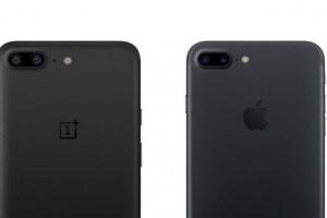 oneplus5とiphone7plusの比較