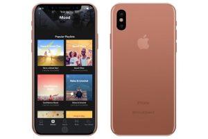 iphone8の新色ブラッシュゴールド