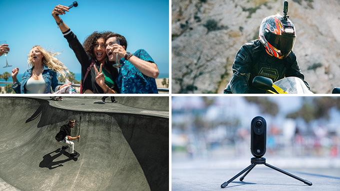 360カメラinsta360はいろんなシーンでの撮影が可能
