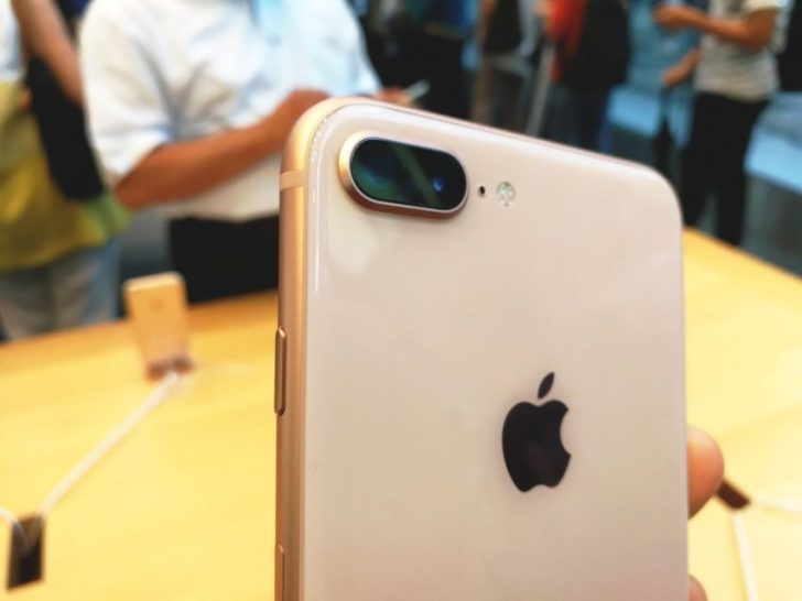 iPhone8plusをアップルストア表参道で実機レビュー