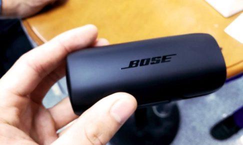 bose初の完全ワイヤレスイヤホンBose SoundSport Free wireless headphonesをヨドバシカメラで試着