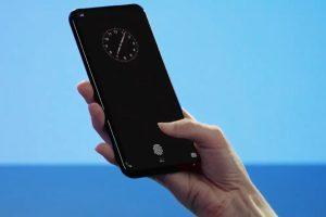 vivoの画面埋め込み型指紋センサーclearid