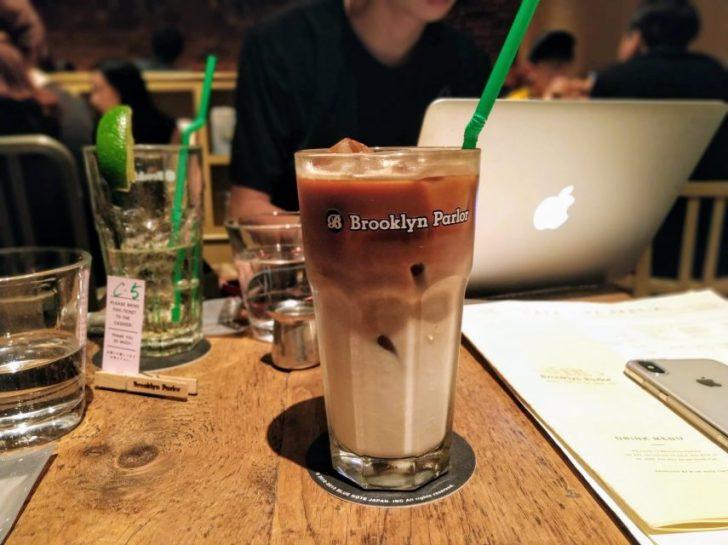 Brooklyn Parlor(ブルックリン・パーラー)のカフェラテ