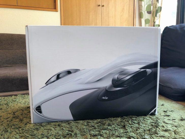 家電レンタルのレンタマでレイコップRP100jをレンタルの外箱