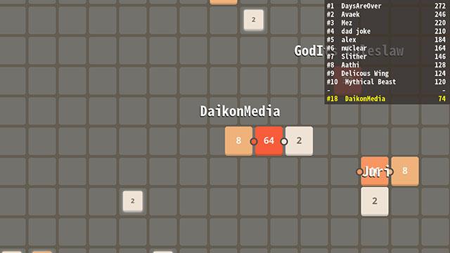 2048.io Screenshot
