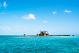 On the way to Caye Caulker
