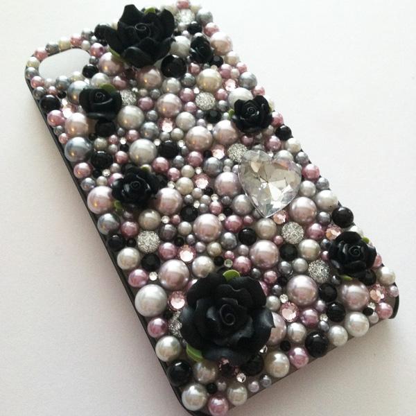 My iPhone 4 deco case.