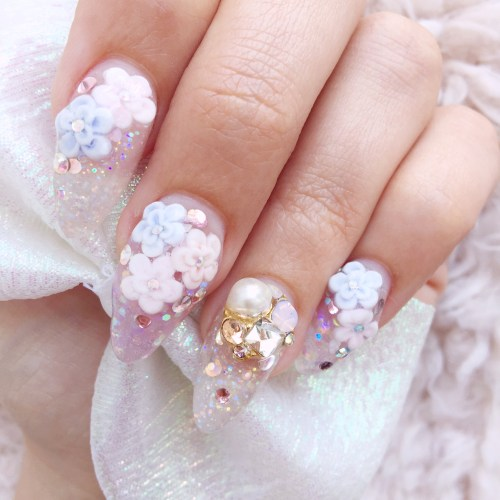 Sculp nails from Nail Crea