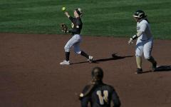Softball revels in off-week, weather