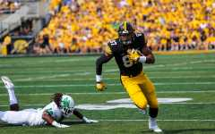 Iowa football's mid-season report cards: wide receivers/tight ends
