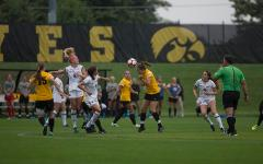 Hawkeye sisters burn the pitch up